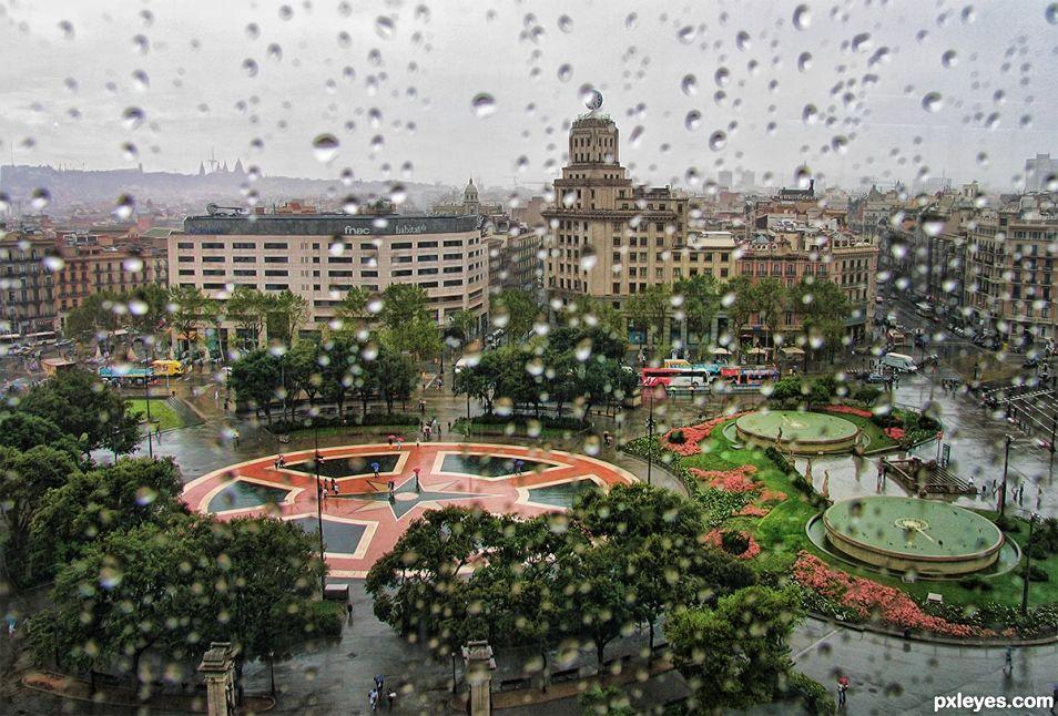 Wet Barcelona