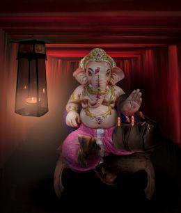 Ganesh blessing