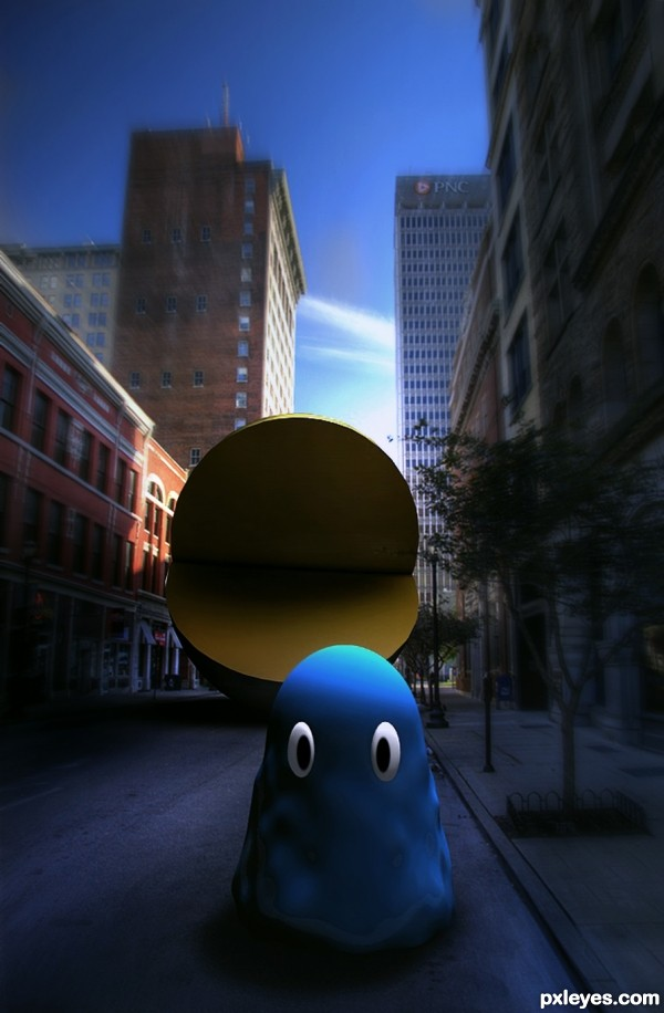 Downtown Pacman