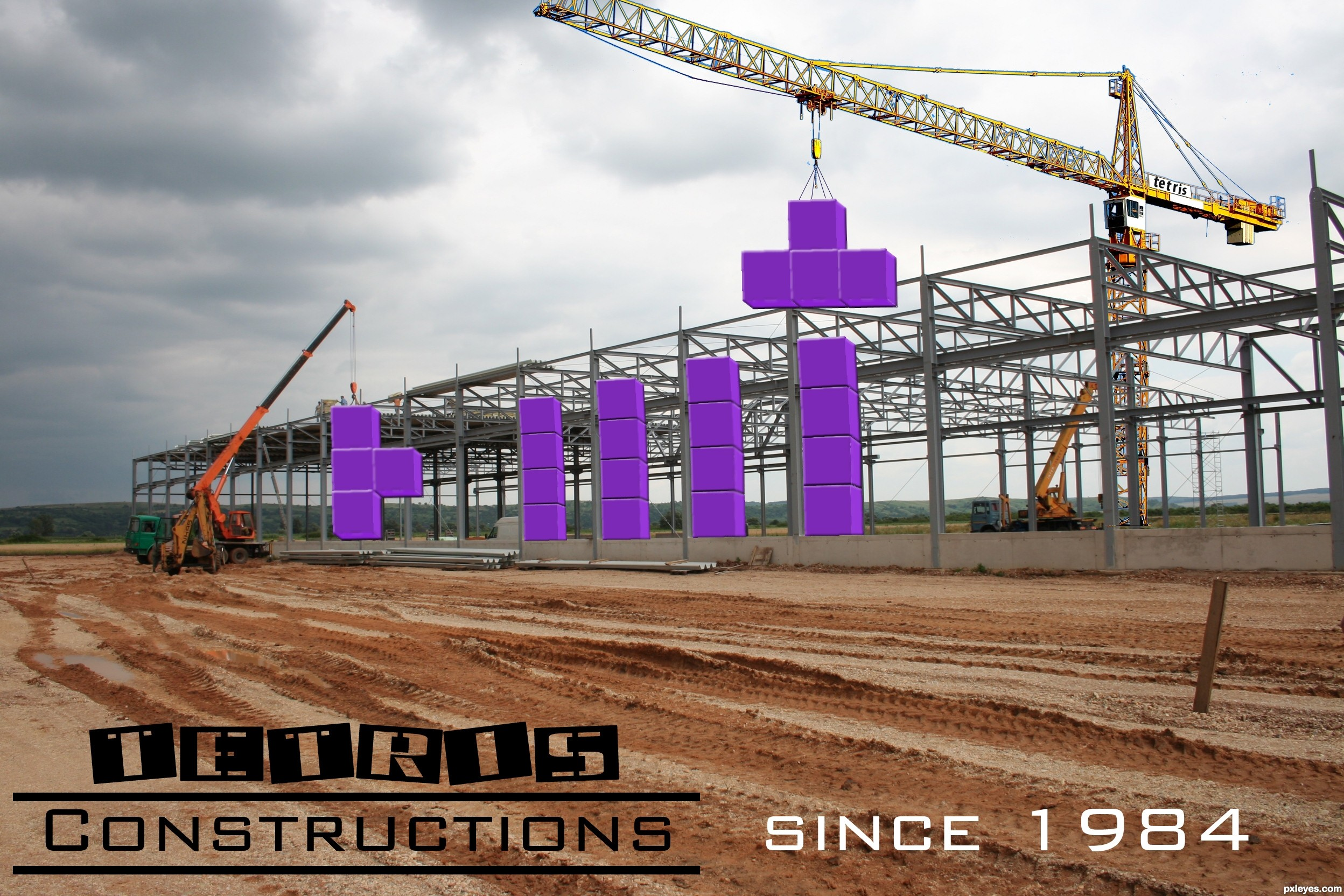 construction tetris