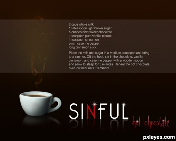 Sinful Hot Chocolate