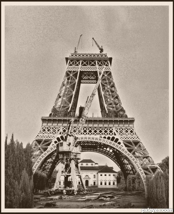 Eiffel Tower - July 1888