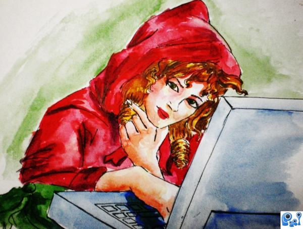 red riding hood chatting