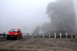 My Car in Clouds