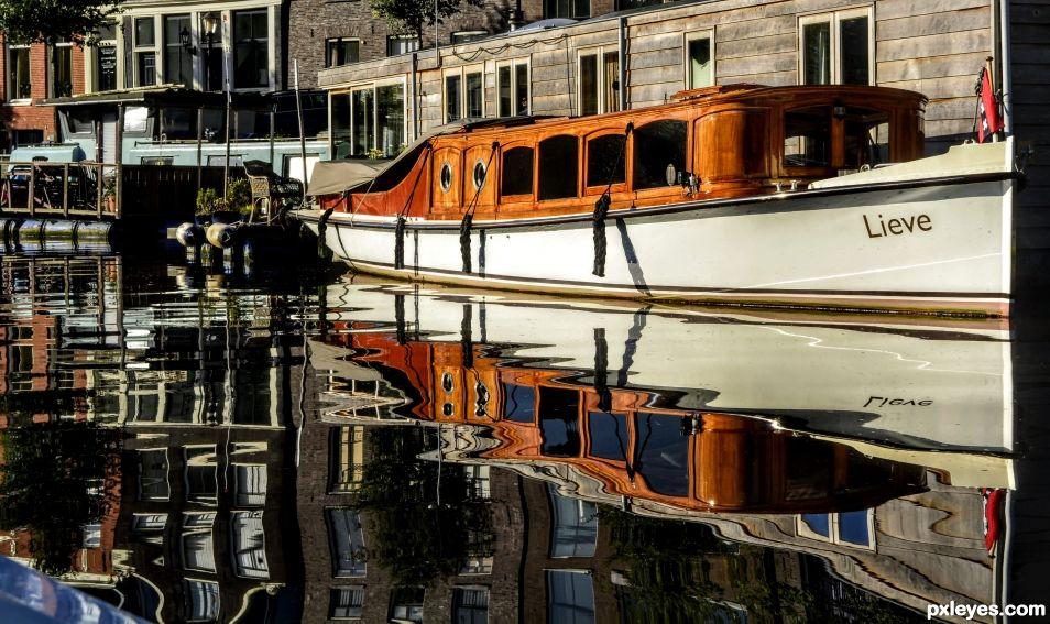 Reflective Boat