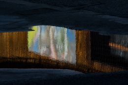 Abstract puddle