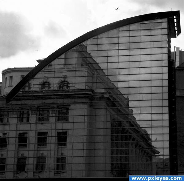 Virtual architecture photoshop picture