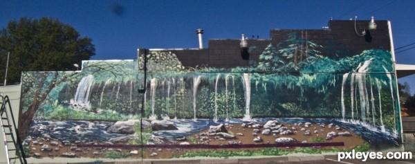 Mossbrae Falls Dunsmuir CA
