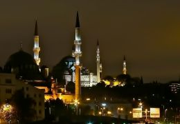 Mosque at night - Istanbul