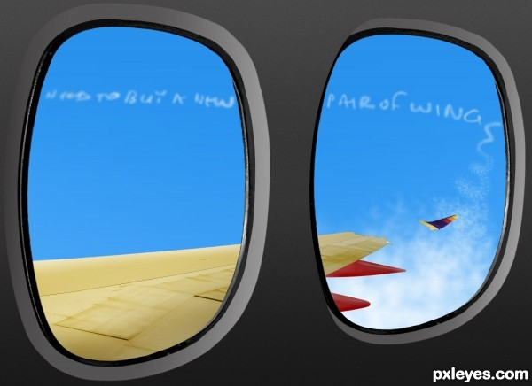 In-flight spectacle