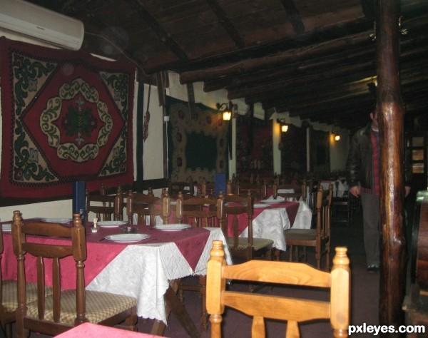An ethno restaurant