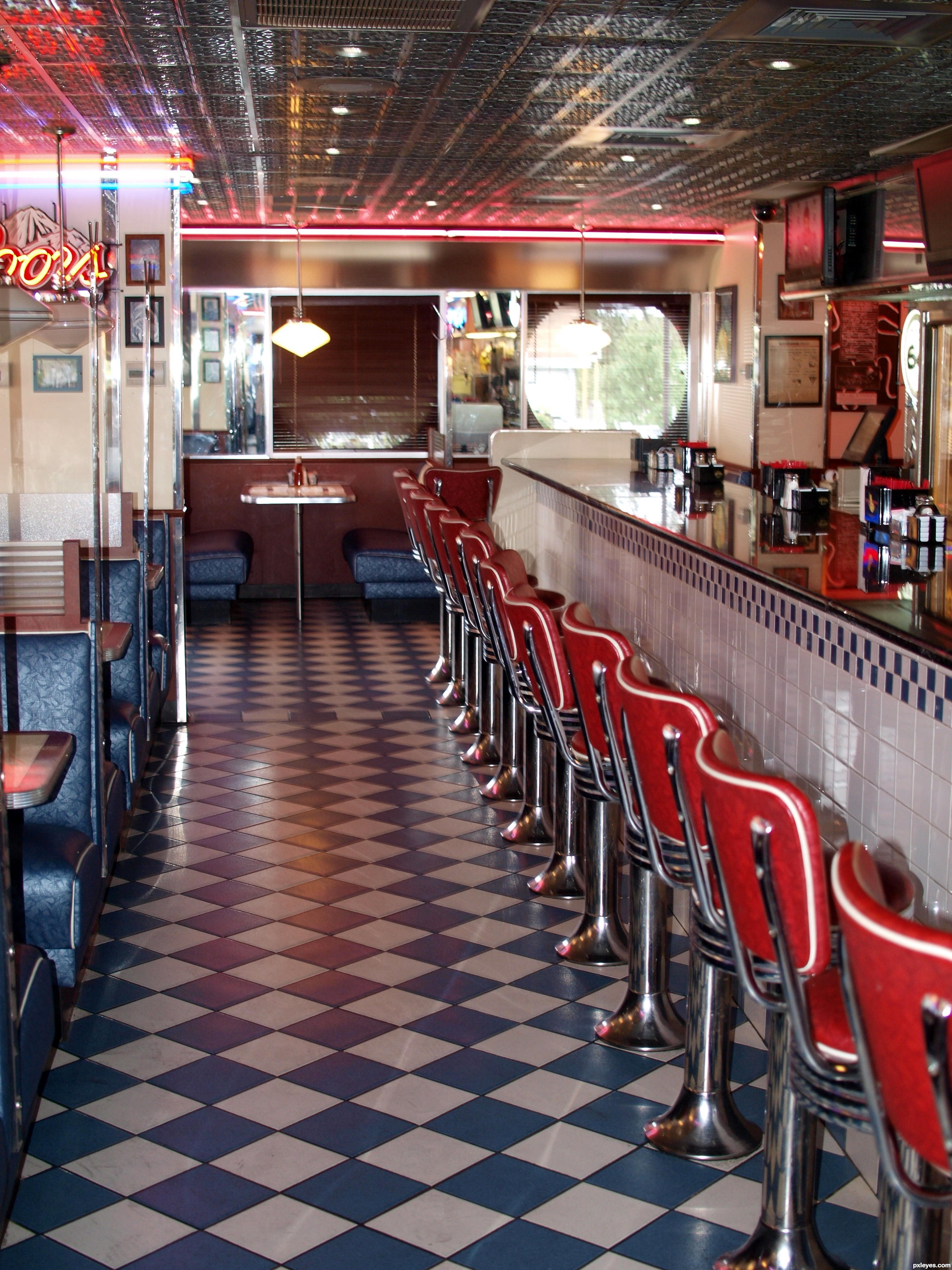 Loukas diner nj usa picture by cmyk46 for restaurants for Diner picture