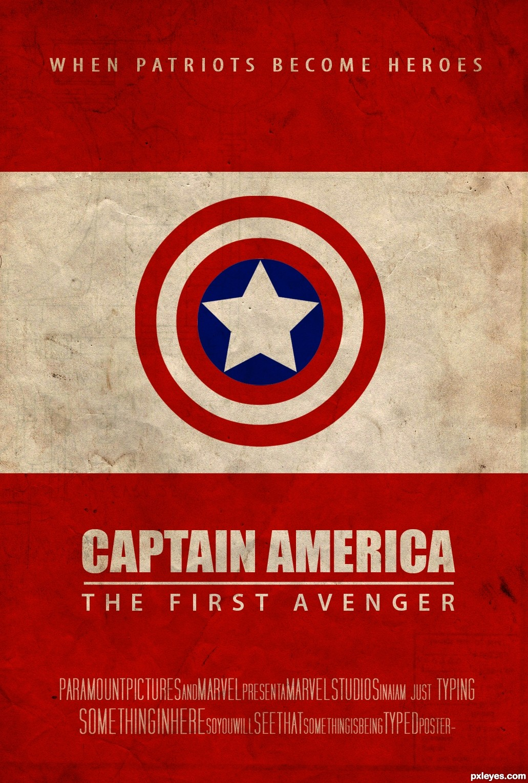 CAPTAIN AMERICA picture, by TimeGenius for: retro posters ... Horns Movie Poster