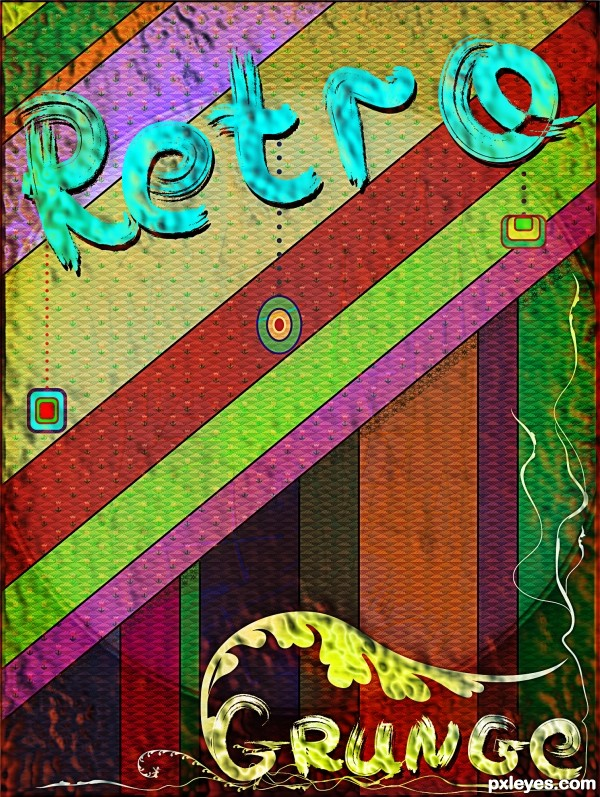 Retro Grunge Poster