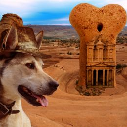 Indiana Dog and the temple of bones Picture