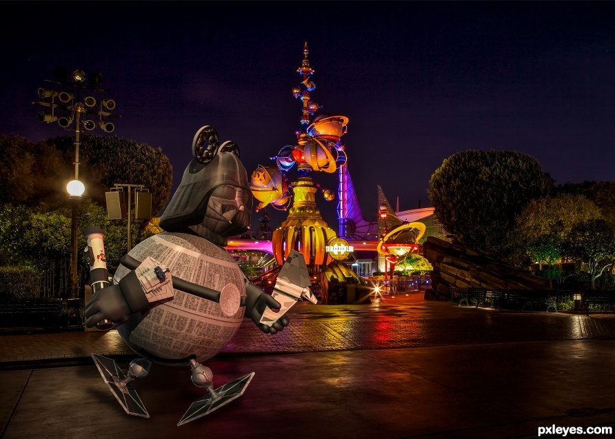 Vader Boy in Tomorrowland