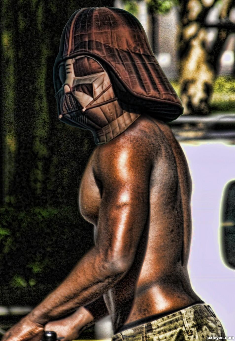 Bronze Biking Vader
