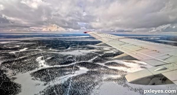 Going for landing