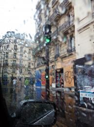 Rain in Paris Picture