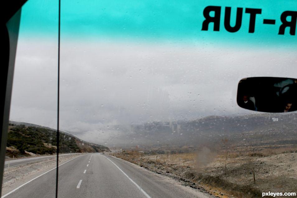 A rainy way