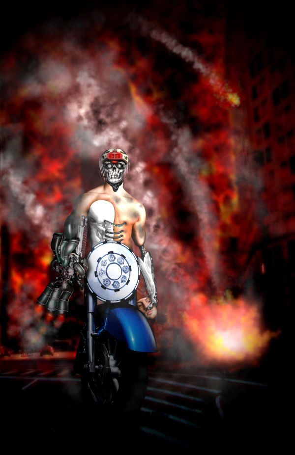 Motorman the Terminator photoshop picture
