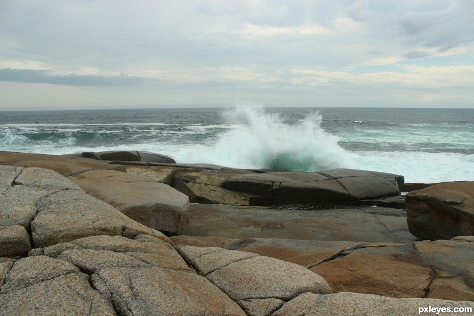 Rock - Peggys Cove