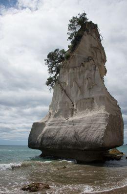 One big rock