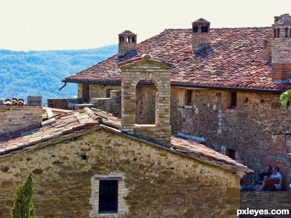 Quiet time in Umbria