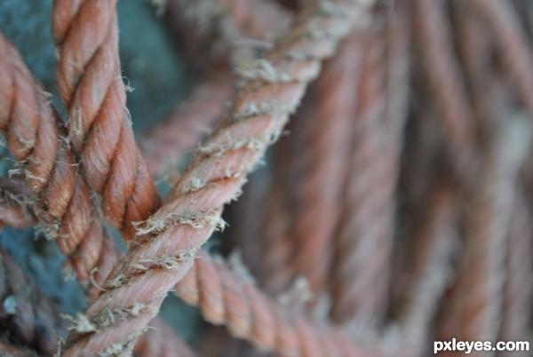 pink rope