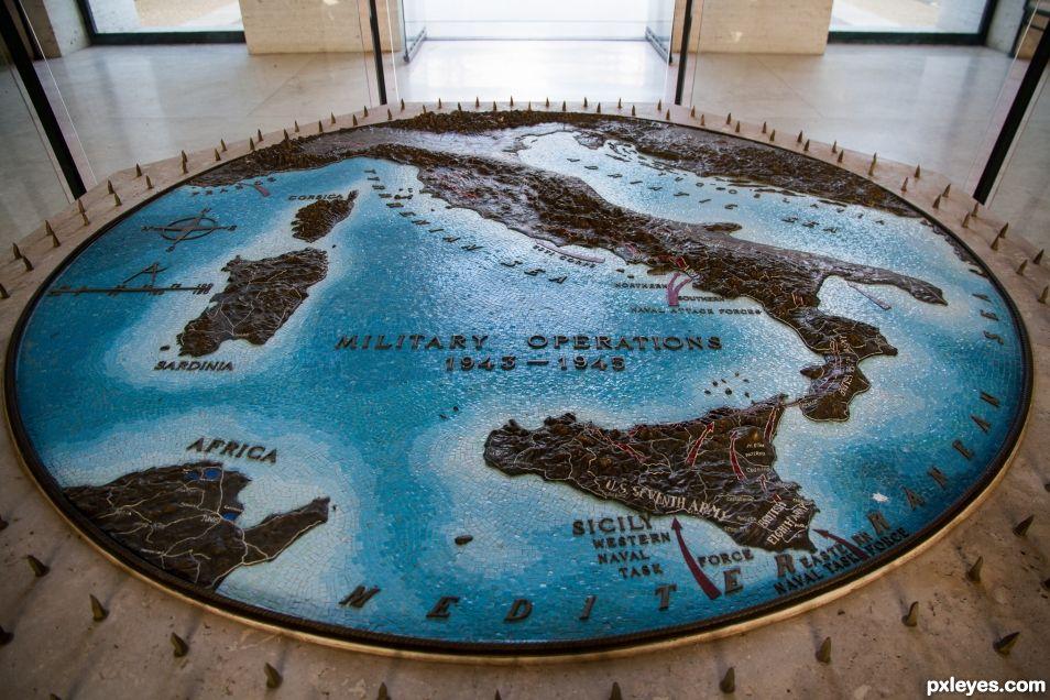 World war map