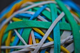Rubber Band Texture