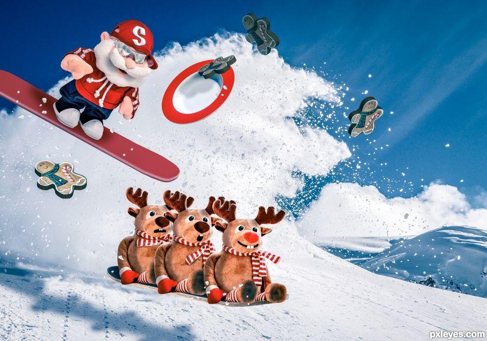 Santa Shredding