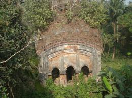 abandoned temple