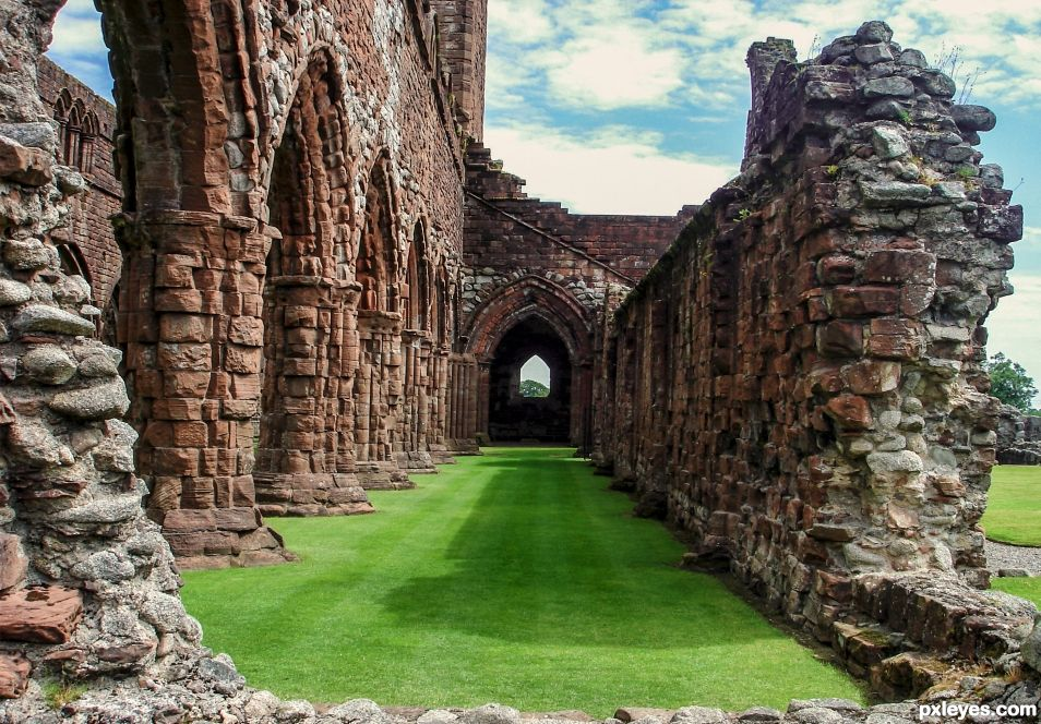 Sweetheart abbey, Scotland