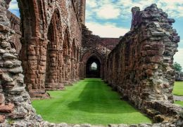 Sweetheart abbey, Scotland Picture