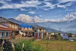 Dhampus on the Annapurna Trail