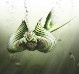 Deep Green Sea Picture