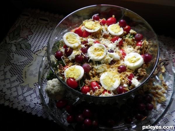 My wifes salad