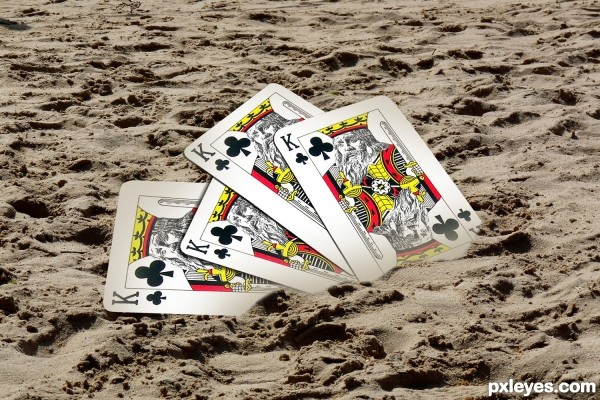King of sand (clubs)