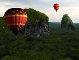 BalloonRideOverKingMountain