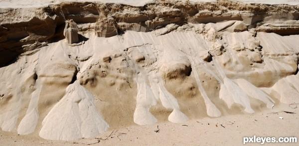 dry sand streams