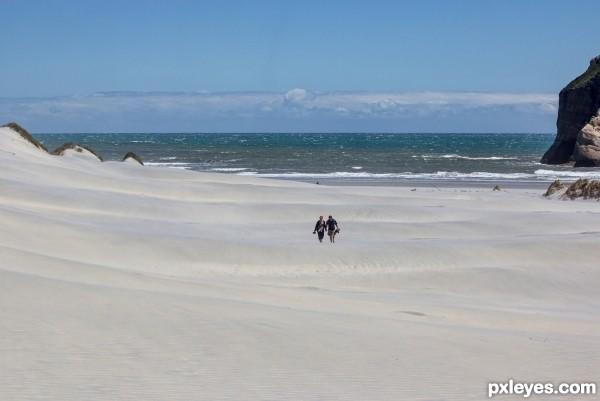 Enough sand?