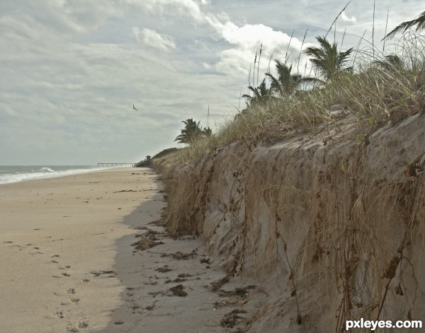 Sand erosion