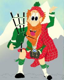 There can be only one ....highland fling ! Picture