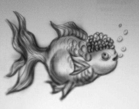imagination golden fish