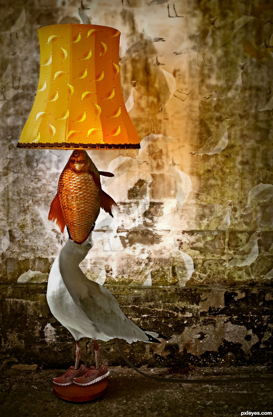 Seagoldfish Lamp