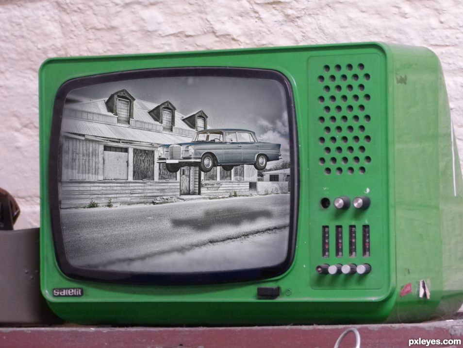 Ghost Car on TV