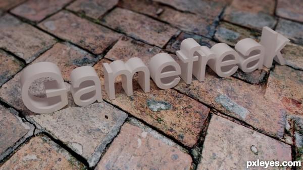 Gamefreak Username Logo