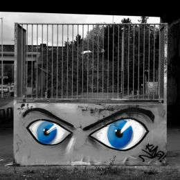 Eyes grafitti Picture