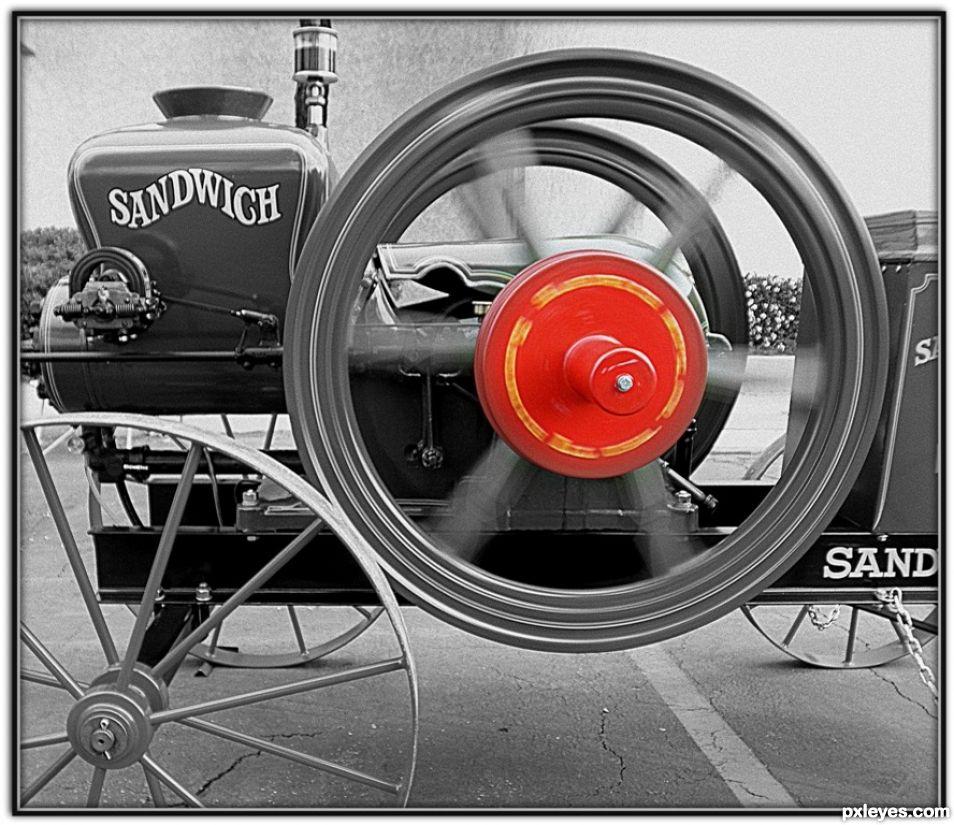 Vintage Hit & Miss Motor